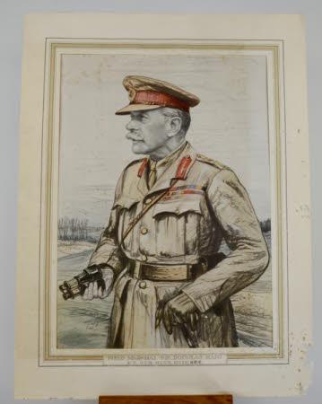 Field-Marshall Douglas Haig, 1st Earl Haig of Bemersyde KT, GCB, OM, GCVO, KCIE, ADC (1861-1928)