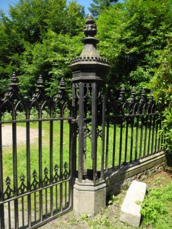 Gate pier