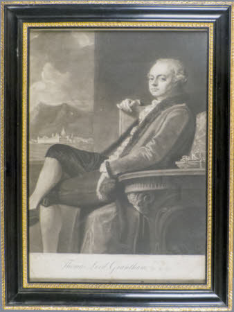 Thomas Robinson, 2nd Baron Grantham (1738-1786) (after George Romney)