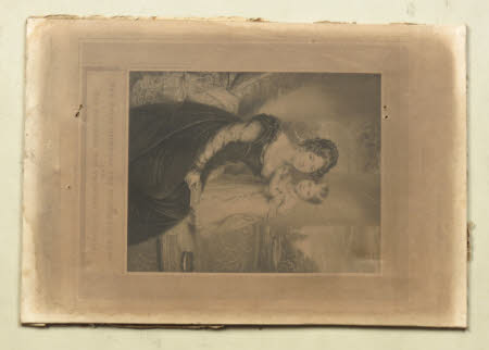Maria Louisa Victoria of Saxe-Coburg-Saalfield, Duchess of Kent (1786-1861) with the Princess ...