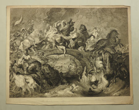 Battle of the Amazons and Greeks (after Peter Paul Rubens)