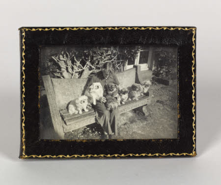 Photograph and frame