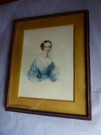 Mary Throckmorton, Mrs Thomas Ralph Riddell (d.1843)