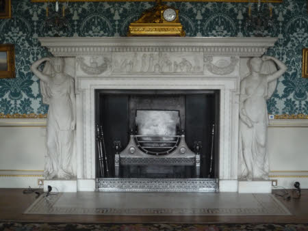 The Drawing Room fireplace