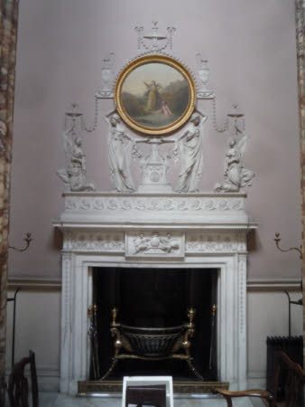 The Marble Hall fireplaces