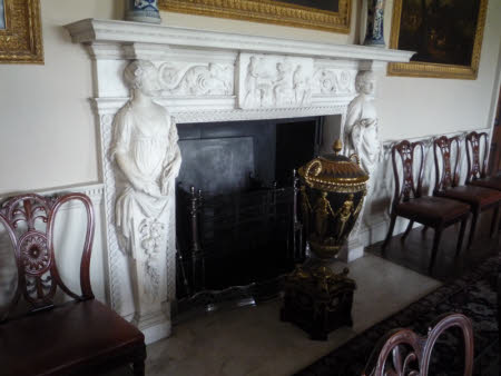 The Dining Room chimneypiece