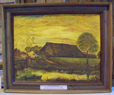 Summer Evening, Coggeshall, Essex (View of the Ancient Coggeshall Abbey Tithe Barn from St ...