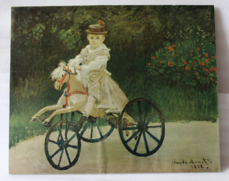 Jean Monet (1867-1913) on His Hobby Horse