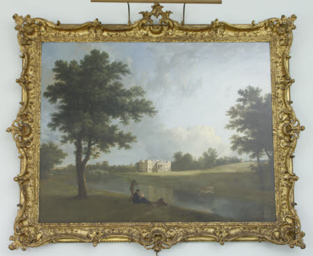 An Extensive View of Croome Court, Worcestershire, from the South