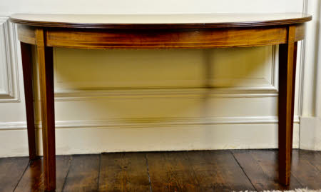Dining table end