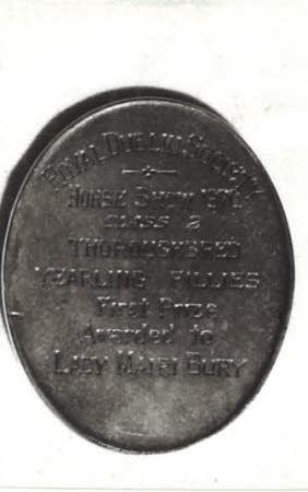 Agricultural medal