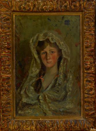 Portrait of Edith Helen Chaplin, Vicountess Castlereagh