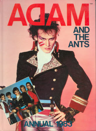Adam and the Ants annual.