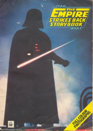 Star Wars 'The empire strikes back' story book [storybook adaptation, Shep Steneman].