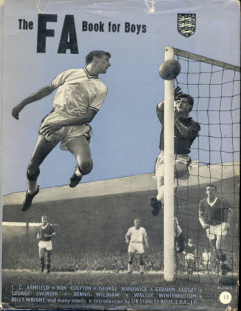 The FA book for boys.