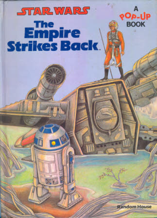 Star Wars : The Empire strikes back. A pop-up book. Illustrated by Patricia Wynne. Paper ...