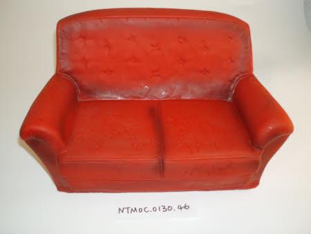 Doll's sofa