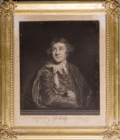David Garrick (1717-1779) as 'Kitely' in Ben Jonson's 'Every Man in His Humour' (after Sir Joshua ...