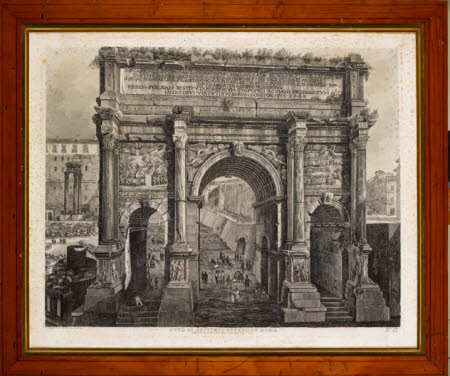 Arch of Septimus Severus, Rome