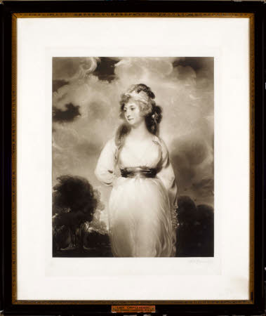 Lady Amelia Anne Hobart, Vicountess Castlereagh, Marchioness of Londonderry (1772-1829) (after Sir ...