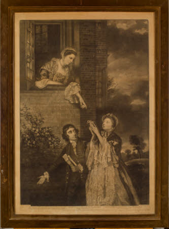 The Rt. Hon. Charles James Fox MP (1749-1806), Lady Sarah Lennox, Lady Bunbury (1745-1826) and Lady ...