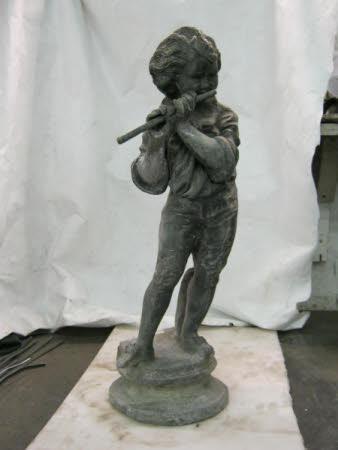 Flautist figure