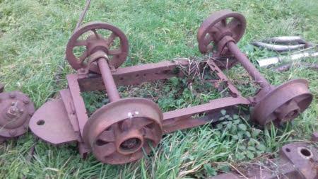 Mining trolley