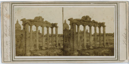 Temple of Saturn, Rome.
