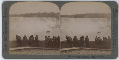 American Falls from the Canadian side,   Niagara, U.S.A.