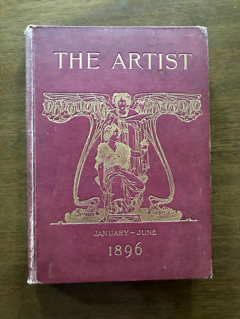 The Artist . an illustrated monthly record of arts, crafts and industries.