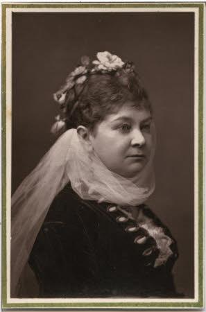 Half length portrait of lady
