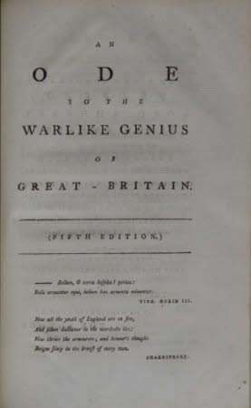 Select odes of Pindar and Horace translated; . and other original poems: together with notes, ...
