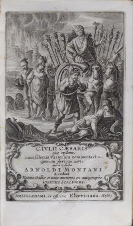 C. Iulii Cæsaris quæ exstant, . cum selectis variorum commentariis, quorum plerique novi, operâ et ...