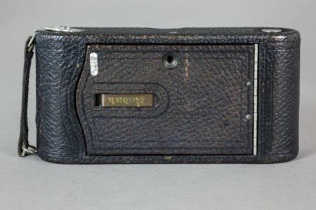 No. 1A  Folding Pocket Kodak rollfilm camera, R.R. Lens Type, Model D