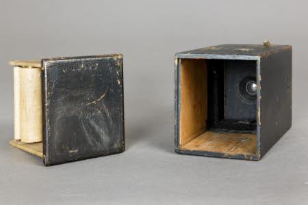 A Kodak Camera (original model) roll film camera.