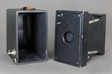 Kodak No.2C Brownie Model A box roll film camera.