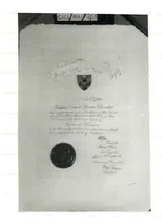 Appointing WSC Hon doctorate of literature, University of London 1945
