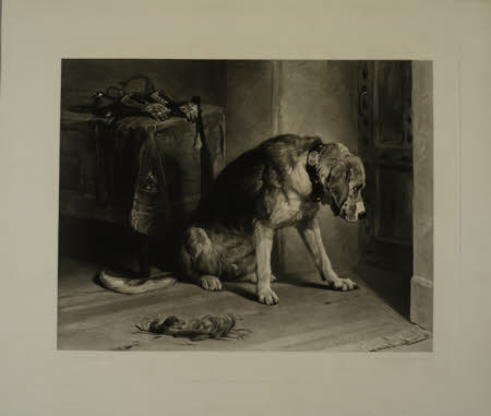 Farewell (after Sir Edwin Henry Landseer RA)
