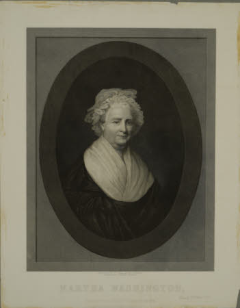 Martha Custis, Mrs George Washington (1732-1802) (after Gilbert Stuart)