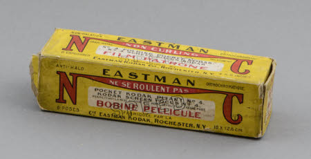 Eastman Kodak NC Non-Curling Film for Kodak No.4 Cartridge camera, in original box.