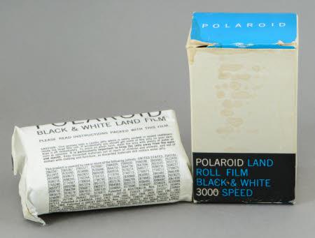 Polaroid Land Film, Black & White, 3000 Speed, Type 47.