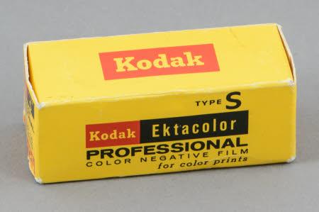 Unopened box of Kodak CPS 120 Type S Ektacolor Professional Color Negative Film.