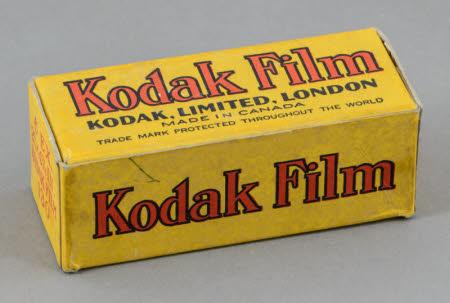 Unopened box of Kodak 130 film