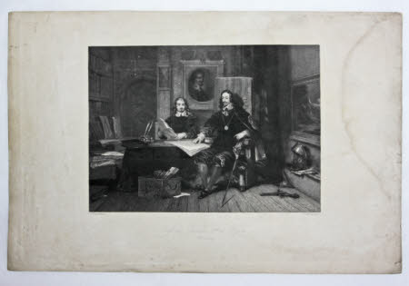 King Charles I (1600-1649) and Edward Hyde, 1st Earl of Clarendon (1609-1674)