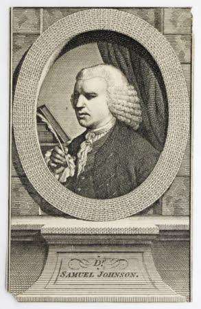 Dr Samuel Johnson (1709-1784)