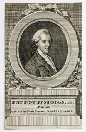 Richard Brinsley Sheridan (1751-1816)