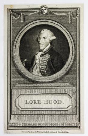 Admiral Samuel Hood, 1st Viscount Hood (1724-1816)