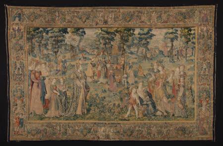 Tapestry depicting Niobe's Pride