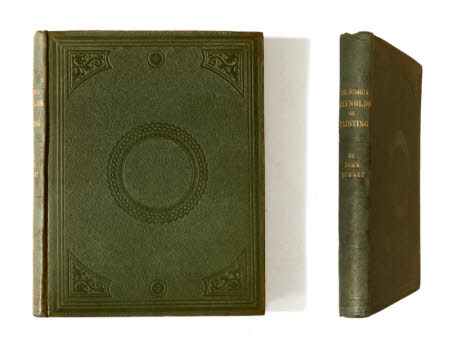 The discourses . of Sir Joshua Reynolds; illustrated by explanatory notes & plates by John Burnet, ...