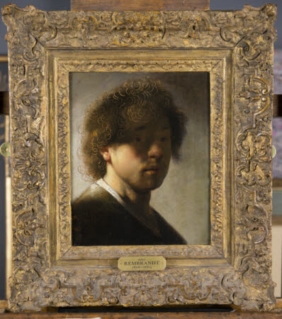 Self-portrait at the age of 22